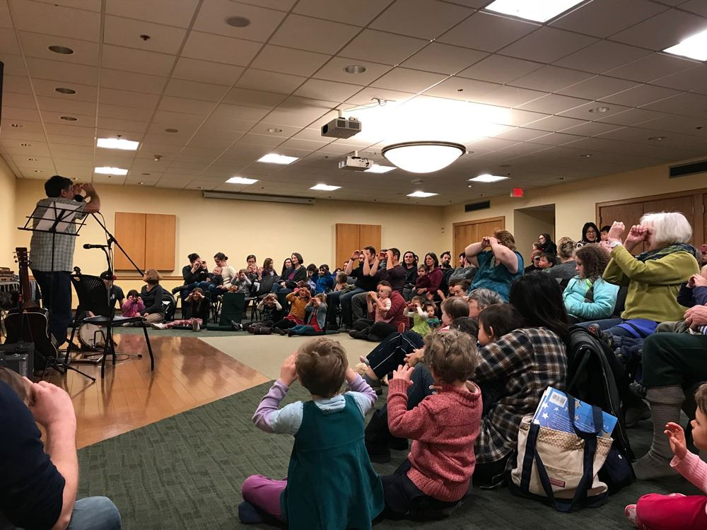 Children's Music Series with Roger Tincknell