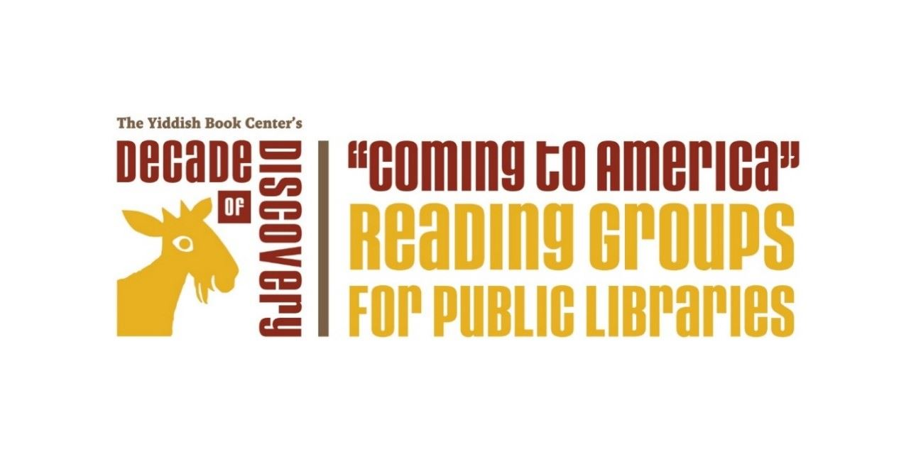Coming to America Yiddish Book Center logo