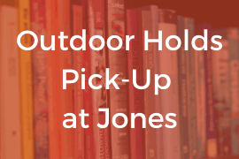 Outdoor Holds Pick-Up at Jones