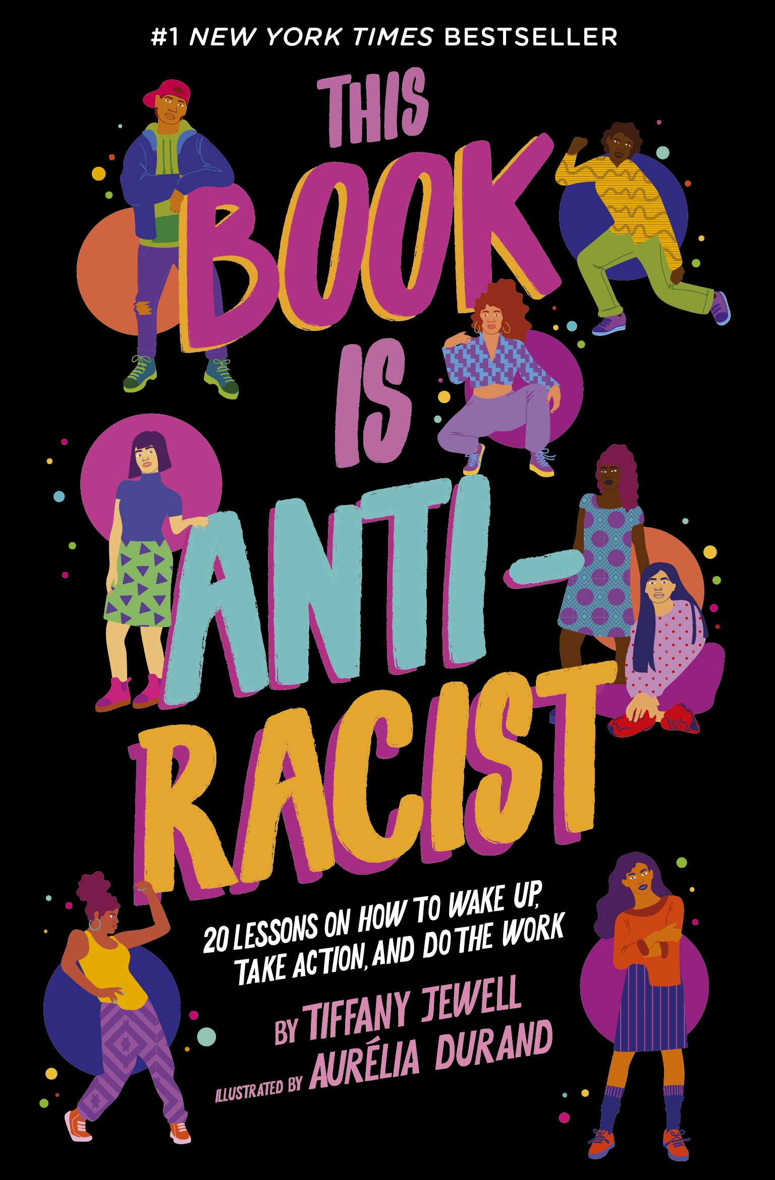book cover this book is antiracist
